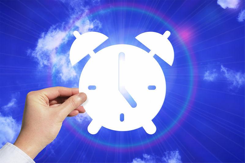 明晰夢中の目覚まし時計